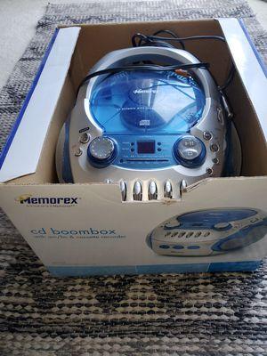Memorex portable cd/casette/radio player for Sale in Edmonds, WA