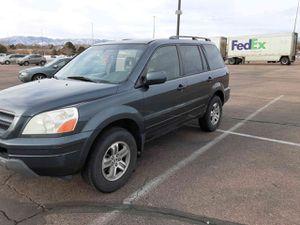 2003 Honda Pilot. Ex-L-entertainment series for Sale in Colorado Springs, CO