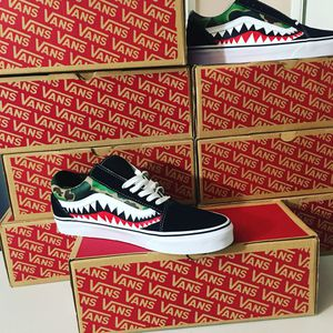 Vans X Bape for Sale in Milford, OH