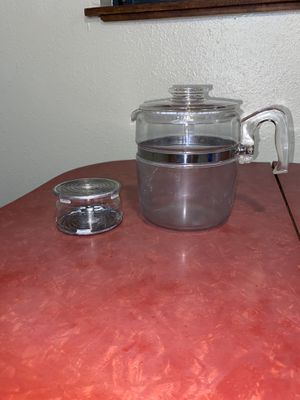 Vintage Pyrex Coffee Peculator for Sale in Oretech, OR