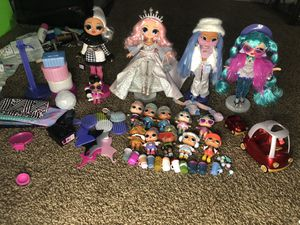 Lol suprise and Omg doll lot for Sale in Lafayette, LA
