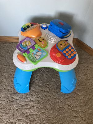 Fisher Price Activity Table for Sale in New Lenox, IL