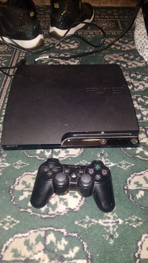 Ps3 with controller and all wires for Sale in Fall River, MA