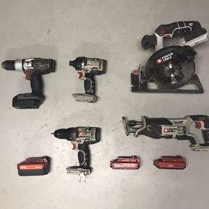 Porter Cable 20v Power Tools for Sale in Ballwin, MO