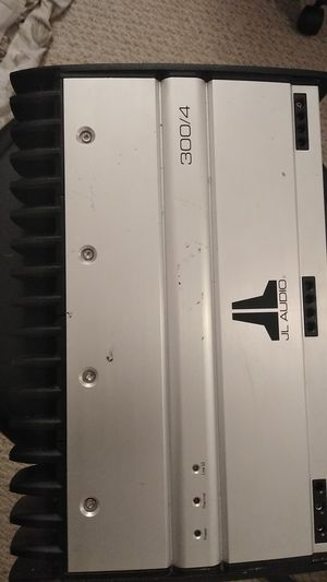 JL AUDIO AMPLIFIER 300/4 for Sale in Adelphi, MD