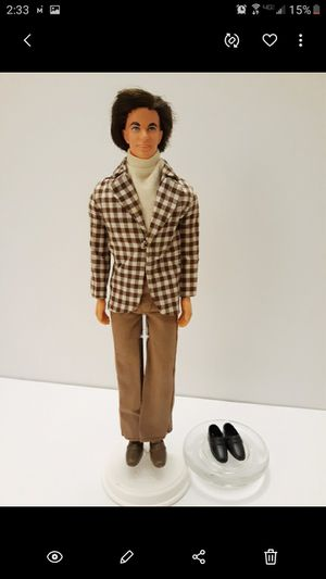 KEN DOLL 1970'S FULL HEAD OF HAIR, ORIGINAL CLOTHING AND SHOES! GREAT CONDITION $38- FIRM*PRICE IS FINAL* for Sale in Bakersfield, CA