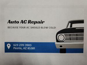 Auto, RV, Truck AC Service for Sale in Peoria, AZ
