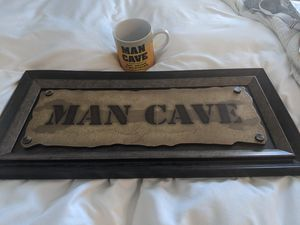Man cave sign and mug for Sale in Aurora, CO