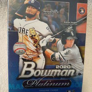 2020 Bowman Platinum Baseball Factory SEALED BOX Fernando Tatis for Sale in Kissimmee, FL