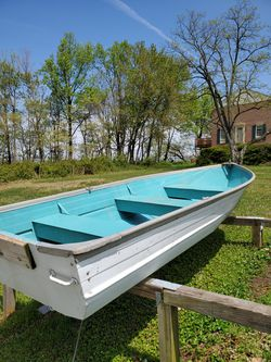 1969 - 12ft Aluminum Boat and Motor for Sale in Lake Shore,  MD