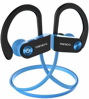 New Bluetooth Headphones, TRINIDa IPX7 Waterproof Sport Wireless Headset for Sale in Hollis, NH