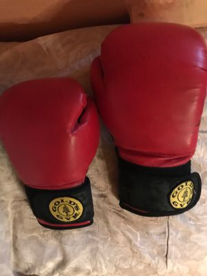 Small & large pair of boxing gloves for Sale in Detroit, MI