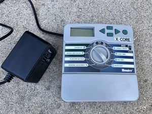 Hunter Sprinkler XC600i X-Core 6-Station Indoor Controller Timer 6 Zone for Sale in Claremont, CA