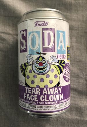 SDCC 2020 exclusive Tear Away Face Clown 🤡 Funko POP soda LE 3000 for Sale in Norwalk, CA