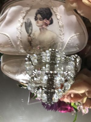 Gorgeous ! White Beaded Crystal Bracelet for Sale in Gainesville, VA