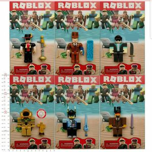 Roblox 6 PCS Action Figures Game Character Set Sealed Pack Kid's Party Toys Gift for Sale in Los Angeles, CA