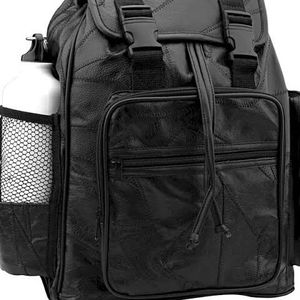 Black and Bottle Leather Backpack for Sale in Peoria, AZ