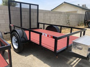 6.5x10x1 UTILITY TRAILER NATM CERTIFIED for Sale in Chiriaco Summit, CA