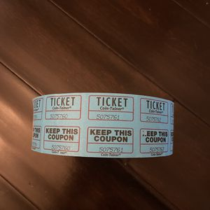 Roll Of Tickets for Sale in Garden Grove, CA