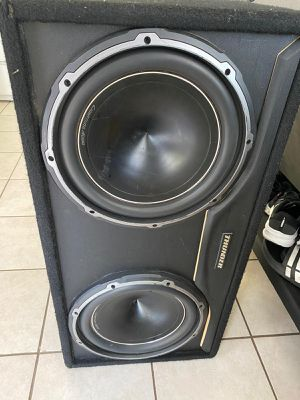Lightning audio speakers 12 in and box for Sale in National City, CA