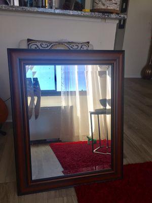 Brown wall mirror for Sale in Alexandria, VA