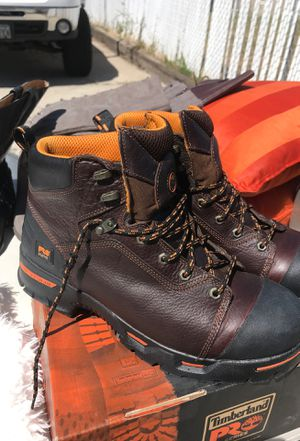 Timberland work boots/Hytest Water proof for Sale in Bingham Canyon, UT