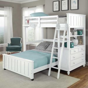 NE Kids lake house twin loft bed for Sale in Anaheim, CA