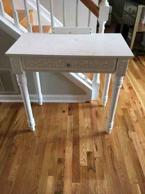 Desk / foyer table/ chair for Sale in Campobello, SC