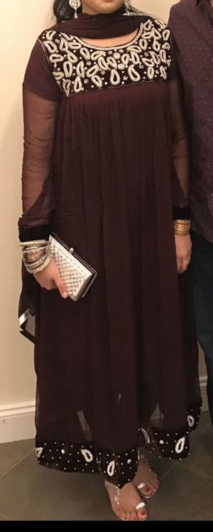 Pakistani purple dress for Sale in Levittown, NY