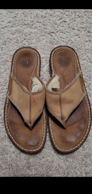 UGG flip flops size 7 for Sale in Mesquite, TX