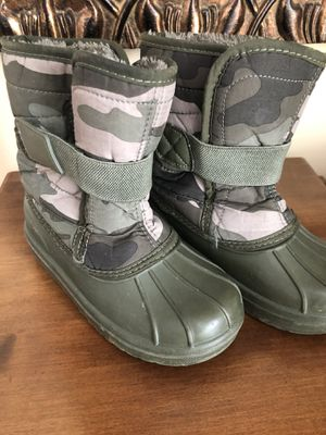 Snow boots 13t kids for Sale in IL, US
