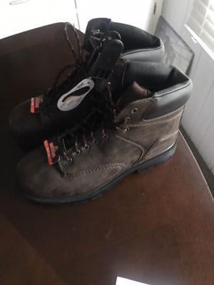 BRAND NEW SIZE (9) STEEL TOE WORK BOOTS - $30 for Sale in Largo, FL