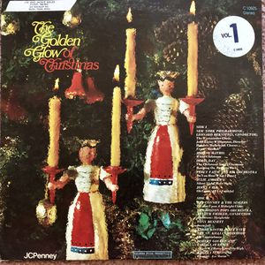"Various Artists ""The Golden Glow of Christmas"" Vinyl Album $10 for Sale in Ringgold, GA"