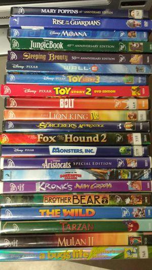 21 children's DVDs mostly Disney for Sale in Marysville, WA