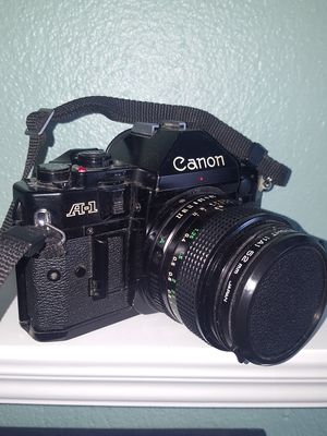 Cannon A-1 35 mm SLR Camera with 28 mm Lens Kit for Sale in Annapolis, MD