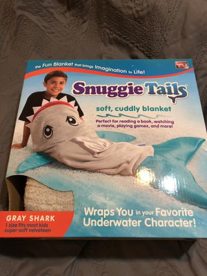 Snuggie Tails - Gray Shark - New in Box! 🦈 for Sale in San Diego, CA