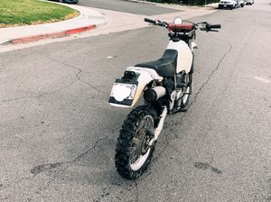Garage stored Suzuki DR 350 street legal for Sale in Laguna Hills, CA