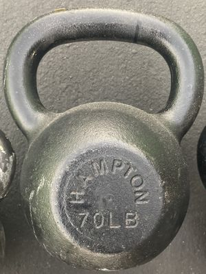 70 pound kettlebell - Gym Equipment for Sale in San Leandro, CA
