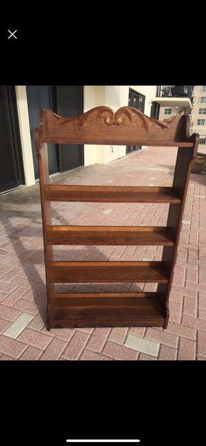 Vintage Oak Shelving Unit for Sale in Palm Beach, FL