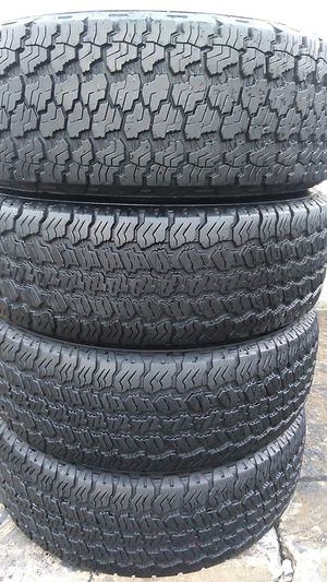 Four matching Goodyear tires for sale 245/70/17 for Sale in Suitland-Silver Hill, MD