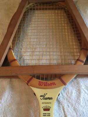Awesome Vintage Wilson Tennis Racket for Sale in Quincy, MA
