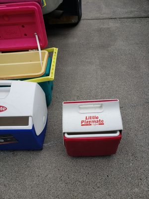 Igloo and Playmate coolers. for Sale in Portland, OR