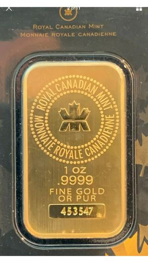 One ounce pure gold 24k for Sale in Chicago, IL
