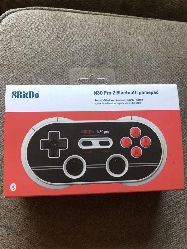 8BitDo N30 PRO 2 Bluetooth game pad $30