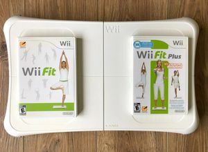 Nintendo WII FIT Board and 2 Games for Sale in San Diego, CA