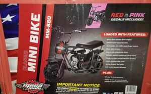 Mini bike new in box for Sale in Winter Haven, FL