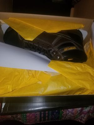 Mens cat working boots for Sale in Chicago, IL