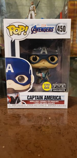 Marvel avengers endgame captain america funko pop for Sale in Dallas, TX