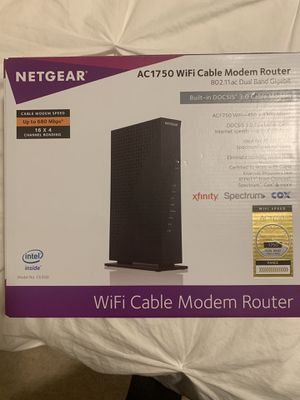 Wireless cable modem router for Sale in Las Vegas, NV