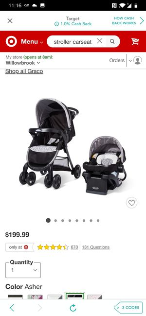 Stroller with carseat for Sale in Houston, TX